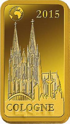 Соломоновы острова 10 долларов, 2015 «Кельн - Кельнский собор» (реверс).jpg