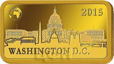 Соломоновы острова 10 долларов, 2015 «Вашингтон - Капитолий» (реверс).jpg