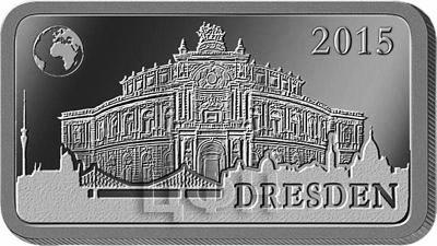 Соломоновы острова полдоллара, 2015 «Дрезден - Опера Земпера» (реверс).jpg