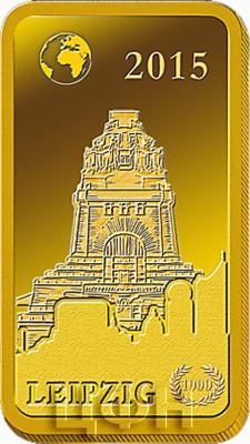 Соломоновые острова 10 долларов 2015 «Лейпциг - Памятник битве народов» (реверс).jpg