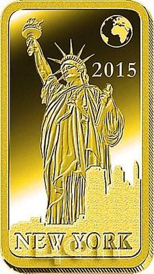 Соломоновые острова 10 долларов 2015 «Нью-Йорк - Статуя Свободы» (реверс).jpg