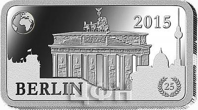Соломоновые острова 2 доллара 2015 «Берлин - Бранденбургские ворота» (реверс).jpg