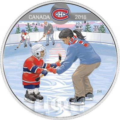 Канада 10 долларов 2018 «Монреаль Канадиенс» (реверс).jpg
