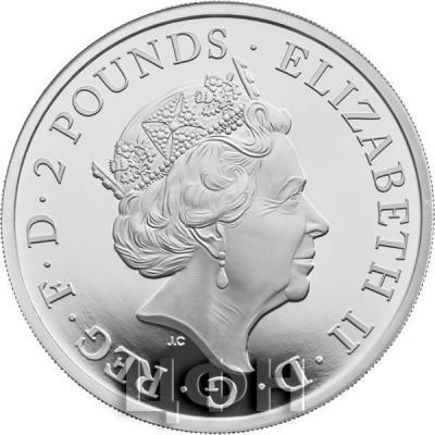 Великобритания серебро «Год собаки» (аверс).jpg