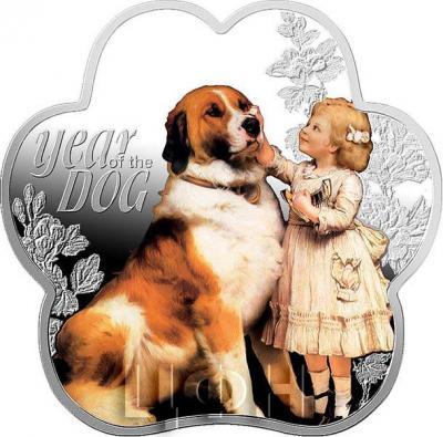 Ниуэ 1 доллар 2018 год «Год собаки» (реверс).jpg