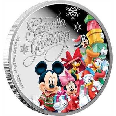 Ниуэ 1 доллар 2015 год «Рождество» (реверс).jpg