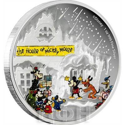 Ниуэ 2 доллара 2015 год «Рождество» (реверс).jpg