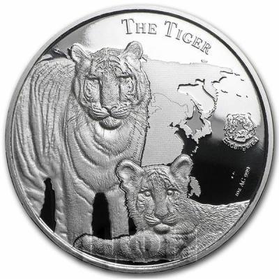 Ниуэ 1 доллар 2015 год «Тигр» (реверс).jpg