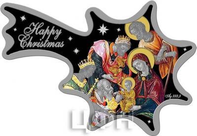 Ниуэ 1 доллар  2015 год. «Счастливого Рождества» (реверс).jpg