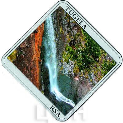 Ниуэ 1 доллар 2015 год «Водопады.Тугела» (реверс).jpg