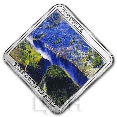 Ниуэ 1 доллар 2015 год «Водопады. Виктория» (реверс).jpg
