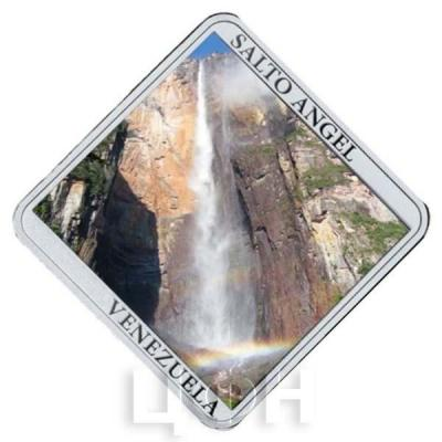 Ниуэ 1 доллар 2015 год «Водопады. Анхель (реверс).jpg