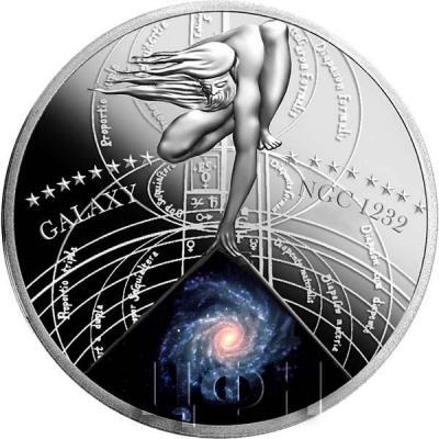 Ниуэ 1 доллар 2015 год «GALAXY NGC 1232» (реверс).jpg