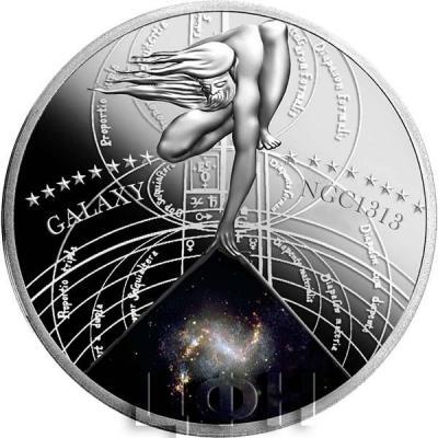 Ниуэ 1 доллар 2015 год «GALAXY NGC 1313» (реверс).jpg