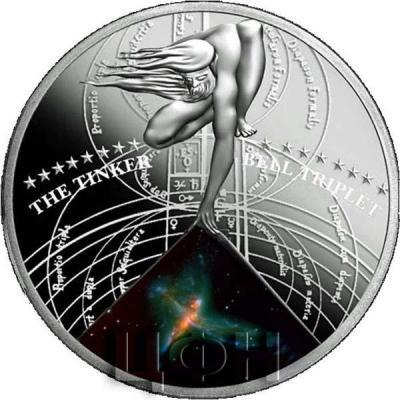 Ниуэ 1 доллар 2015 год «THE TINKER BELL TRIPLET» (реверс)..jpg