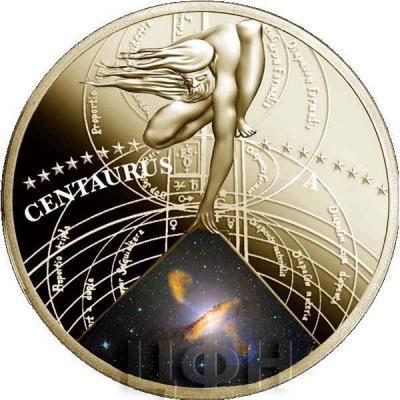 Ниуэ 50 пенсов 2015 год «Галактика Центавр А» (реверс).jpg