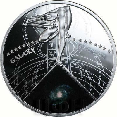 Ниуэ 1 доллар 2015 год «GALAXY NGC 4321» (реверс).jpg