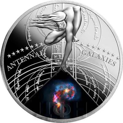 Ниуэ 1 доллар 2015 год «ANTENNAE GALAXIES» (реверс).jpg