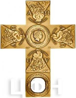 Ниуэ 25 долларов 2015 год «Крест» (аверс).jpg
