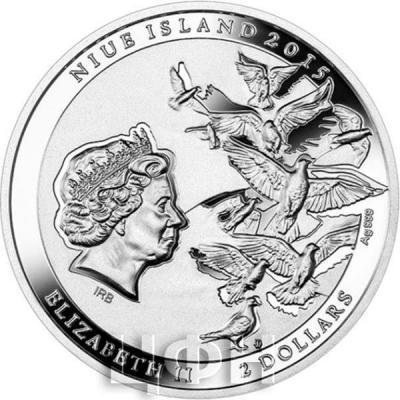 Ниуэ 2 доллара 2015 год «Святой Иоанн Павел II» (аверс).jpg