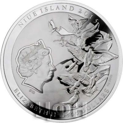 Ниуэ 1500 долларов 2015 год «Святой Иоанн Павел II» (аверс).jpg
