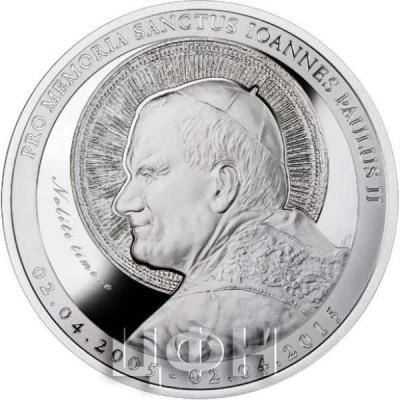 Ниуэ 2015 год «Святой Иоанн Павел II» (реверс).jpg