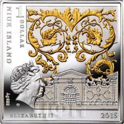 Ниуэ 1 доллар 2015 год «Леонардо да Винчи - Мона Лиза» (аверс).jpg