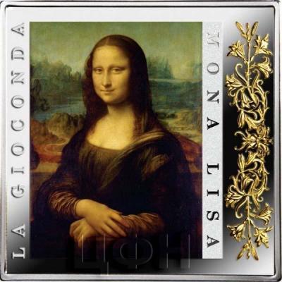Ниуэ 1 доллар 2015 год «Леонардо да Винчи - Мона Лиза» (реверс).jpg