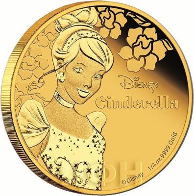 Ниуэ 25 долларов 2015 год «Золушка» (реверс).jpg