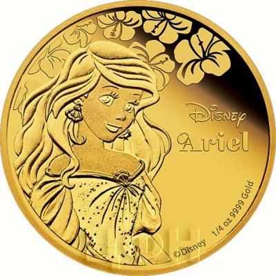 Ниуэ 25 долларов 2015 год «Ариель» (реверс).jpg