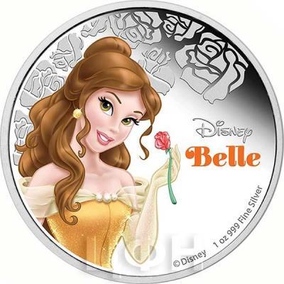 Ниуэ 2 доллара 2015 год «Белль». (реверс).jpg