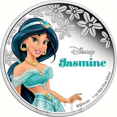 Ниуэ 2 доллара 2015 год «Жасмин». (реверс).jpg