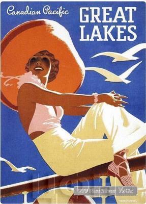 Ниуэ 1 доллар 2015 год «Великие озера» (реверс).jpg