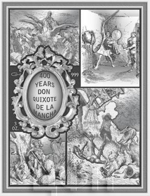 Ниуэ 15 долларов 2015 год «Дон Киход» (реверс).jpg