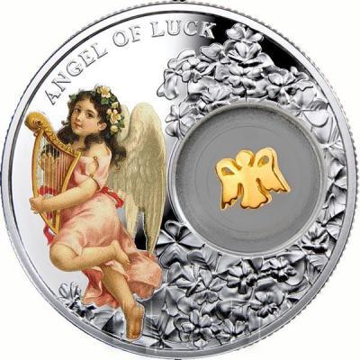 Ниуэ 1 доллар 2015 год «Ангел удачи» (реверс)..jpg