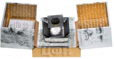 Ниуэ 25 долларов 2015 год «Леонардо да Винчи» (коробка).jpg