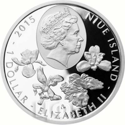 Ниуэ 1 доллар 2015 год «цветы» (аверс).jpg