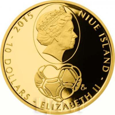 Ниуэ 10 долларов 2015 год «Футбол» (аверс).jpg
