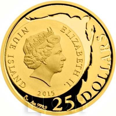 Ниуэ 25 долларов 2015 год «Данте Алигьери» (аверс).jpg