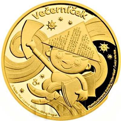 Ниуэ 2015 год золотая монета«Вечерничек» (реверс).jpg