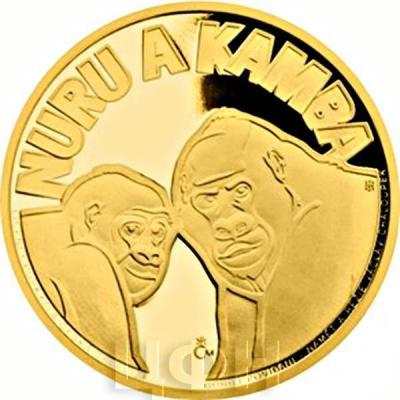 Ниуэ 2015 год золотая монета «Нуру и Камба» (реверс).jpg