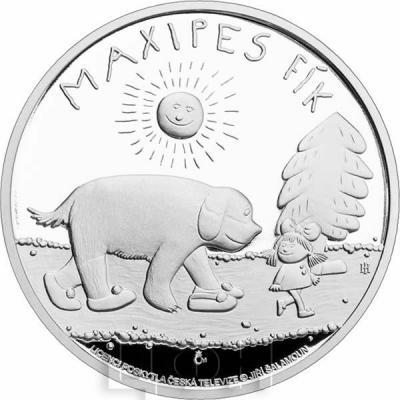 Ниуэ 2 доллара 2015 год  «Максипёс Фик» (реверс).jpg