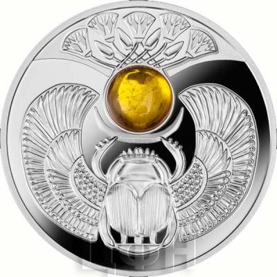 Ниуэ 1 доллар 2015 год «Жук скарабей» (реверс).jpg