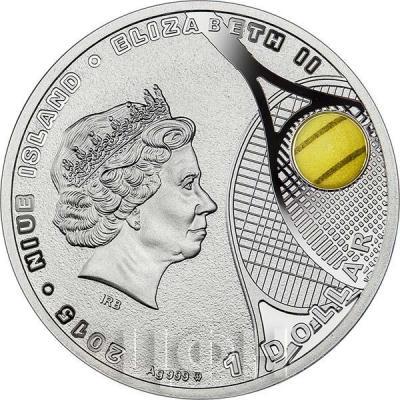 Ниуэ 1 доллар 2015 год «Агнешка Радваньская» (аверс).jpg