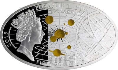 Ниуэ 50 долларов 2015 год «Николай Коперник» (аверс).jpg