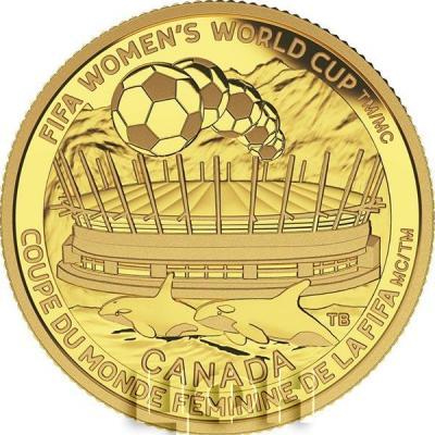 Канада 75 долларов 2015 год «$ 75 Чемпионат мира по футболу в Канаде » золото (реверс).jpg