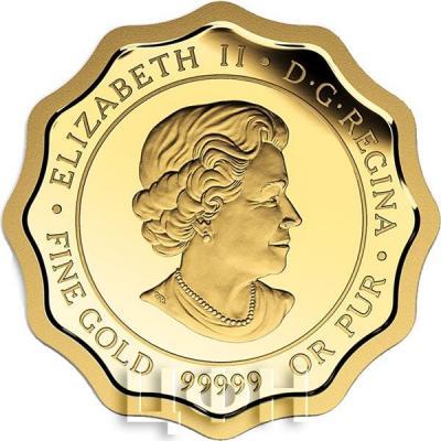 Канада 150 долларов «Благословение» золото (аверс).jpg