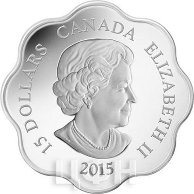 Канада 15 долларов «Год Козы» (аверс).jpg