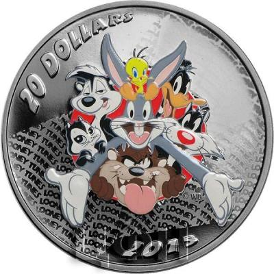 Канада 20 долларов 2015 года «Персонажи Looney Tunes ™» реверс.jpg