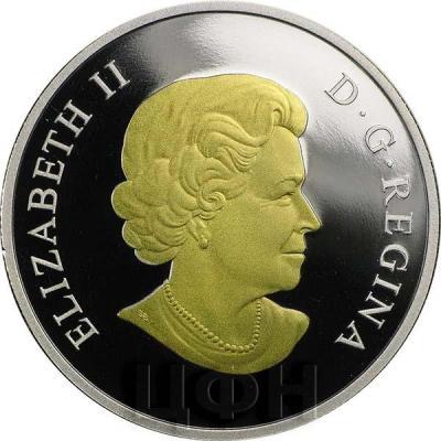 Канада  Елизавета II (аверс с 1990 года).jpg